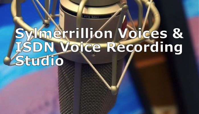 Sylmerrillion voices overs talent, jobs, voiceover, isdn recording studio